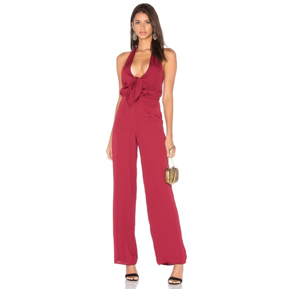 3470c4d8876 NWT House of Harlow Coco Tie Front Jumpsuit XS